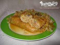 Retete gustoase si garnisite: Sarmale de post cu orez si ciuperci