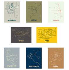 Transit-Inspired Prints by Cayla Ferari and John Breznick | Design Mile
