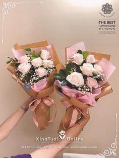 Felt Flower Bouquet, Felt Flowers, How To Wrap Flowers, My Flower, Floral Arrangements, Diy And Crafts, Presents, Valentines, Handmade