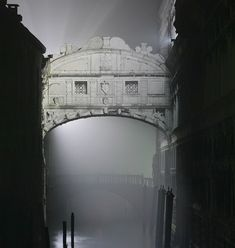 The bridge of sighs. Venice, Italy.