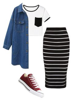 Strive by bye18 on Polyvore featuring polyvore fashion style Balmain Converse clothing