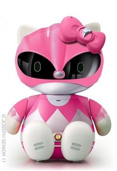 I found 'Power Kitty Ranger' on Wish, check it out!