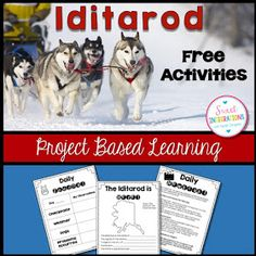 Sweet Integrations: Iditarod 2016 - Bringing the Race into the Classroom