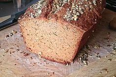 Glutenfreies Ruck-Zuck Joghurtbrot 1 Gluten Free Baking, Fodmap, Banana Bread, Low Carb, Clean Eating, Snacks, Desserts, Recipes, Food