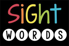 Kindergarten - Second Grade Sight Words Pinterest Board: games, activities, resources and ideas for teaching.