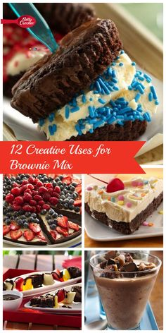 From brownie cupcakes to fudgy salted-caramel shakes, here are 12 ways you can turn a box of Betty Crocker brownie mix into so much more.