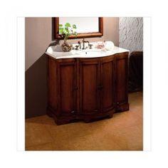 Found it at Wayfair - Stockholm Single Bathroom Vanity Set Country Bathroom Vanities, Single Bathroom Vanity, Bathroom Vanity Lighting, Bathroom Ideas, Bath Vanities, Master Bathroom, Tub Faucet, Shower Faucet, Sink