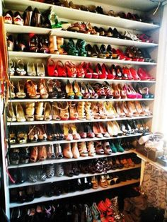 you can never have too many shoes