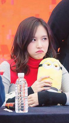 twice ♡ mina Nayeon, Kpop Girl Groups, Korean Girl Groups, Kpop Girls, Twice K Pop, Sana Momo, Reasons To Be Happy, Twice Once, Myoui Mina