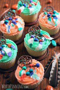 Worth Pinning: Dream Catcher Cupcakes