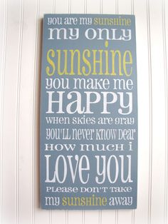 Love this!    I used to sing this song to my daughter when she was little!   This would be great in her old bedroom!