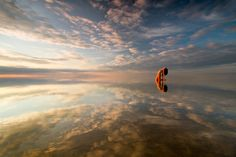 Feel space by Leszek Paradowski on Sunset Landscape, Natural Scenery, Grand Prix, Paradise, Feelings, Space, Nature, Outdoor, Sunsets