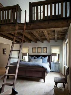 Additional space when you have high ceilings