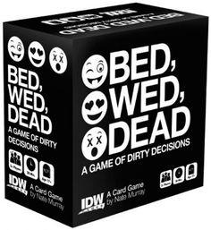 Bed Wed Dead Kortspill Partyspillet med skitne avgjørelser