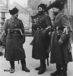 Soviet Cossacks during the WW II.