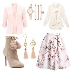 Pink true love by sarah-benneke on Polyvore featuring polyvore, fashion, style, Miss Selfridge, MICHAEL Michael Kors, Anne Klein, clothing, love, Pink, romantic, teacher and attitude