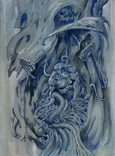 """""""Nyarlathotep"""" by Mike Dubisch"""