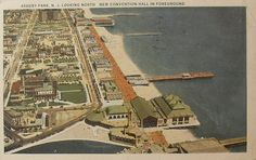 See what's happening at the Township of Ocean Historical Museum, Oakhurst, New Jersey, USA. Asbury Park Convention Hall, Route 35, Beach Images, Water Tower, Local History, Vintage Postcards, New Jersey, Great Places, City Photo