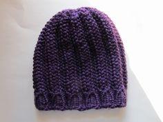 This Mama Knits: 2 New Hats and a Pattern (Knitting Loom Patterns)