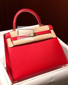 dfbf20b6257 Hermes Kelly 25 Rouge Casaque Epsom Sellier Gold Hardware available for  sale! For booking