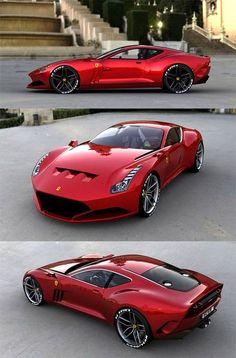 Ferrari 612 GTO Concept.