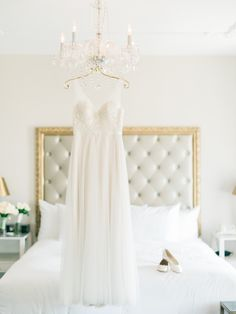 Photography: Honey Honey Photography - hoooney.com Hotel: The Culver Hotel - culverhotel.com   Read More on SMP: http://www.stylemepretty.com/2015/07/02/classically-romantic-culver-city-wedding/