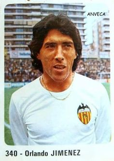 JIMENEZ (Valencia C.F. - 1980-81) Ed. Panini