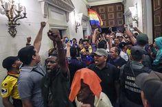 Panamá rechaza asalto a la Asamblea Nacional e insta al diálogo