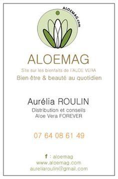 Carte De Visite Aurlia ROULIN FBO FOREVER Produits Alos Portrait