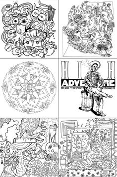 The Stoner's Coloring Book: Coloring for high-minded adults - A kick-starter project will only be funded if at least $6,420 is pledged by Fri, Aug 14 2015 6:24 PM CDT. Give $1 to get an option of downloading and printing the book. But more to see it published.