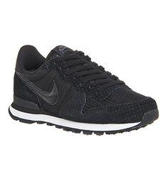 Nike Nike Internationalist (w) Black Black Dark Grey - Hers trainers