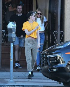 So nice, they wore it twice! Kristen Stewart and Stella Maxwell, both 27, flashed their incredible abs in crop tops when they enjoyed a low-key date in Los Angeles on Thursday