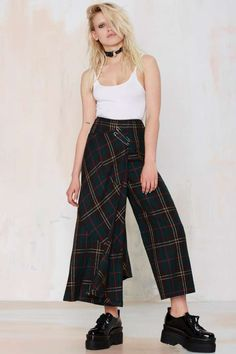 Vintage Commes de Garçons So Plaid It's Good Wool Layered Pant | Shop Product at Nasty Gal!