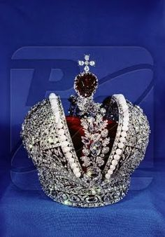 Catherine the Great's Coronation Crown (Russian Crown Jewels -- ok, I can't own it, but it sure is beautiful.