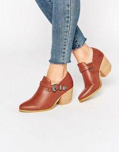 Glamorous Western Heeled Shoe Boots