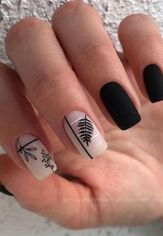 Try some of these designs and give your nails a quick makeover, gallery of unique nail art designs for any season. The best images and creative ideas for your nails. Best Acrylic Nails, Acrylic Nail Designs, Nail Art Designs, Design Art, Stylish Nails, Trendy Nails, Cute Nails, Minimalist Nails, Hair And Nails