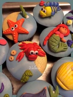La Sirenita cupcakes