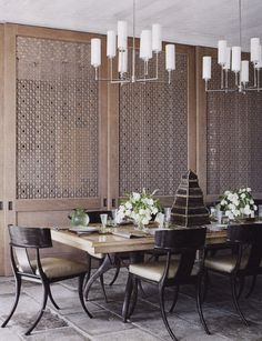 Incorporating Asian-Inspired Style Into Modern Décor love these chairs