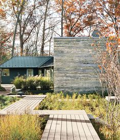 The landscape design, by Anna Boeschenstein of Grounded, followed a 2,200-square-foot extension by Formwork architects Robert and Cecilia...
