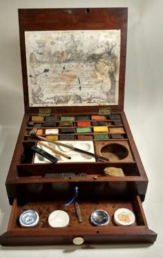 Thomas Reeves & Son Watercolour Watercolor Paint box made from 1784 to 1794