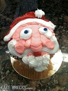 Merry Christmas...oh dear, poor Santa.