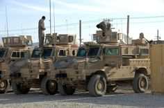 Biggest & baddest: US military vehicles | The picture below shows a Cougar (one of the MRAPs) hit in Al Anbar ...