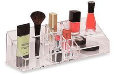 The Make Up Organizer with Shelves has 15 different compartments - sturdy…