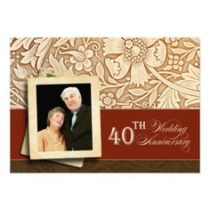 I like the idea of this for a 50th wedding anniversary invitation.