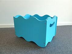 Spielzeugkiste+BLAU+aus+Holz,+stapelbar+von+liebchen-hausart+auf+DaWanda.com