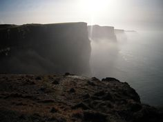 the cliffs of moher on the coast of ireland are definitely on my bucket list.