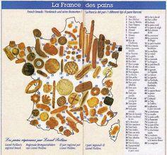 Les différents types de pains en France - Génie Alimentaire