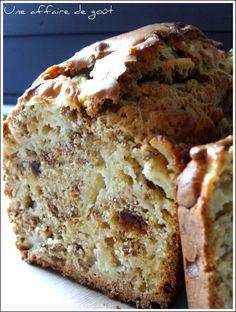 All Bran's cake: sans beurre, pommes, abricots secs et cannelle