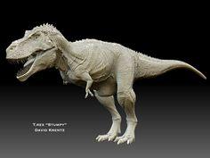 "T.Rex ""Stumpy"" David Krentz sculpt"