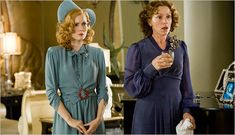 """""""Miss Pettigrew Lives for a Day"""": delightful in every way. Best scene: when Frances McDormand and Ciaran Hinds wonder why the """"younger"""" generation have already forgotten about the Great War."""